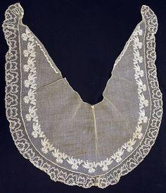 Fichu  Date: 1855 Culture: American Medium: cotton