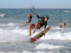 Club Mifune bloemendaal aan zee ( Zandvoort) kitesurfen leren