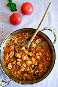 Kurczak w sosie neapolitańskim