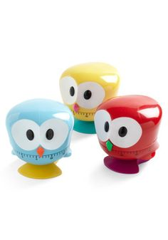 How cute is this for your first apartment?     Beak the Clock Kitchen Timer, #ModCloth