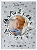 silver baby photo frame 'You are my sunshine'