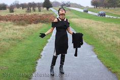 Casual Date Look - LBD with Knee High Boots - #fashionblog #indianfashion #indianfashionblogger #UKFashion #Londonfashionblogger #UKFashionBlogger #fblogger #luxemme @luxemme #LBD #LittleBlackDress #Thames #Richmond #kneehighboots