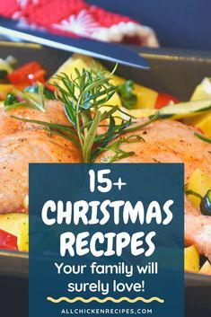 Chicken Recipes for Christmas - Enjoy our best chicken recipes for Christmas dinner eve that you make pretty quickly and serve hot with your family. #chickenrecipesforchristmas #christmasrecipes #christmasdinners #christmaslunch #chickenrecipes #maindish #sidedish Chicken Main Course Recipes, Quick Chicken Recipes, Healthy Chicken Dinner, Grilled Chicken Breast Recipes, Thanksgiving Recipes, Christmas Recipes, Favourite Chicken, Eve, Filipino Food