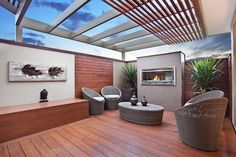 McDonald Jones Home: Outdoor / alfresco area