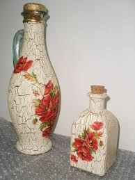 Resultado de imagen para botellas decoradas con lana