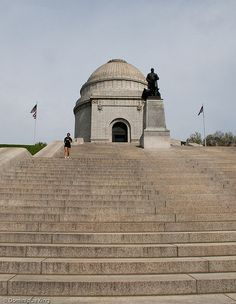 Looking for a good workout? 108 steps to the top of the McKinley Monument in Canton, Ohio.