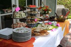 Bridal Tea Party Ideas | Here I am with my Mom and one of my sisters: