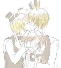 Springbear - Kisssss by SaitouHime145 on DeviantArt