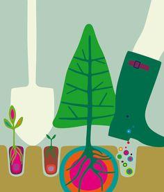 Graphic works Kari Moden