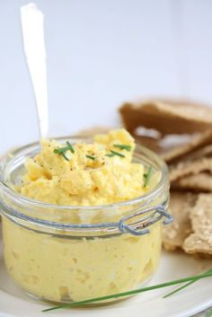 Egg salad with curry and mustard salad salad salad recipes grillen rezepte zum grillen Dutch Recipes, Great Recipes, Cooking Recipes, Tapas, Curry, Omelette, No Cook Meals, Love Food, The Best
