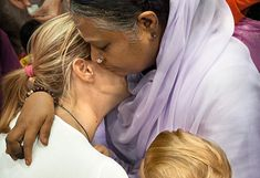 Worth reading: Amma's mission to transform humanity through the power of a hug