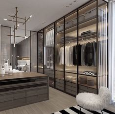 14 Walk In Closet Designs For Luxury Homes Fantastic luxury closets for yo. - 14 Walk In Closet Designs For Luxury Homes Fantastic luxury closets for yo… 14 Walk In Closet Designs For Luxury Homes Fantastic luxury closets for your Master Bedroom. Walk In Closet Design, Bedroom Closet Design, Master Bedroom Closet, Bedroom Wardrobe, Closet Designs, Bedroom Decor, Master Room Design, Master Master, Ikea Bedroom