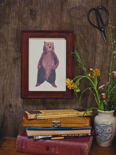 Brown Bear 5x7 Print