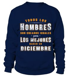 Hombres - DICIEMBRE  #gift #idea #shirt #image #mother #father #mom#dad #son #papa #suppermom #supperfather #coffemugs