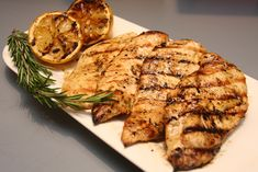 ... grill recipes from last year — Lemon Rosemary Grilled Chicken! It