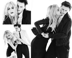 erika linder and andrej pejic. YES