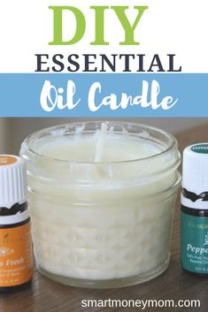Ever since I got my Essential Oil Starter kit-- I've been making ALL sorts of natural items. Check out this very easy on how to make an essential Essential Oil Starter Kit, Lemon Essential Oils, Essential Oil Candles, Natural Candles, Homemade Candles, Aromatherapy Candles, Candle Making, Diys, Natural Products