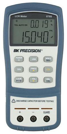 Models 878B & 879B -  40,000 Count Dual Display Handheld LCR Meters