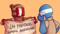 ╭──────────ꕥ。ೃ - - - - ❑ ःCada imagen y cómic no son de mi autoría. ❑ ःCʀéᴅɪᴛᴏꜱ ᴀ ꜱᴜꜱ ʀᴇꜱᴘᴇᴄᴛɪᴠᴏꜱ ᴅᴜᴇñᴏꜱ. ❑ ः Portada echa por mi uwu ╰───────ೃ୭ 🍑 Peru, Haha Funny, Funny Memes, Mundo Comic, Country Men, Drawing Base, Cool Countries, Hetalia, Fan Art