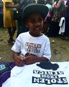 SFA kids  #stolenfromafrica #alldaysfa #Afrofest2017