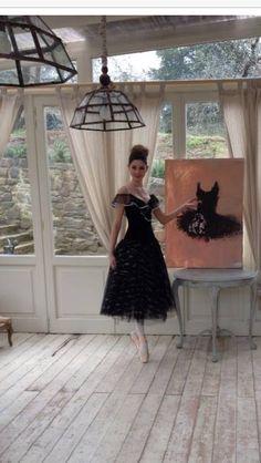 """I dipinti di Rita Pedullà nella campagna pubblicitaria della collezione 2015 di """"Le chicche"""" di Emanuela Biffoli."""