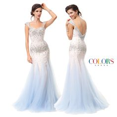 Ice Ice Baby! COLORS DRESS Style 1162 #gown #prom #promshopping #redcarpet #style