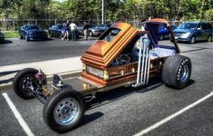 """I seen this pin labeled as """"coffin car""""...this is Dragula people! Google it!"""