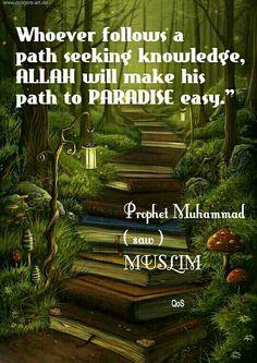 Hadith (saying) of Prophet Muhammad (saw) MUSLIM