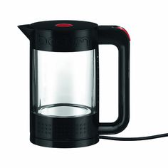BODUM Bistro Electric Water Kettle Black for sale online Small Kitchen Appliances, Kitchen Gadgets, Stainless Steel Kettle, Hot Water Dispensers, The Bistro, Xmas Wishes, Electrical Appliances, Specialty Appliances, Liquor
