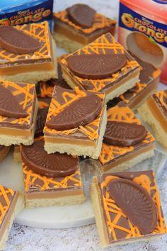 Terry's Chocolate Orange Millionaires Shortbread - Jane's Patisserie