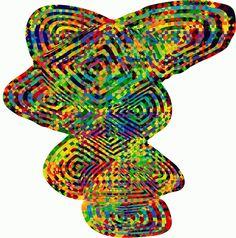 GIF con estampados psicodélicos transformados en impresiones holográficas | The Creators Project