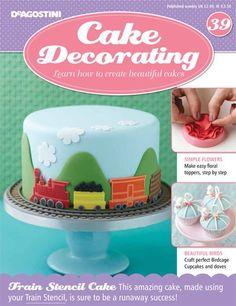 Cake Decorating (Issue 39) Order now: www.mycakedecorating.com.au to receive this gift FREE! #cakedecorating #toolkit #cake #baking