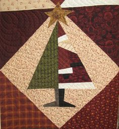Could use to make a Christmas quilt. Unfortunately, no pattern is available.