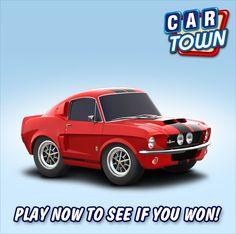 Hemos seleccionado 5 jugadores que compartieron nuestro fondo de pantalla para recibir un Shelby GT500 libre en Car Town! ¡ Felicitaciones! Jugar ahora para ver si has sido uno los afortunados ganadores!    17/01/2013