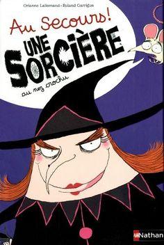 Au secours ! Une sorcière au nez crochu de Orianne Lallemand, http://www.amazon.fr/dp/2092540181/ref=cm_sw_r_pi_dp_hLdzsb0CYTMGM