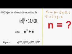 Curso de Matemática Fatorial Simplificação ou fatoração com Operações com... https://youtu.be/ZU8YFuYLv-c