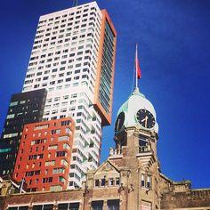 Hotel New York, Rotterdam, Wilhelminapier, Kop van Zuid. Photo: @c1es