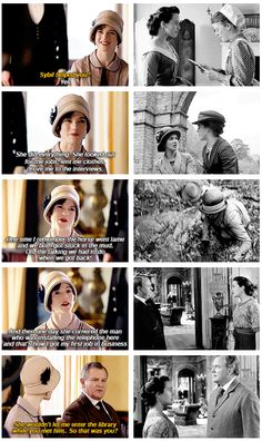 """I'll never forget her. Her kindness changed my life."" ..Downton Abbey, Season 6.."