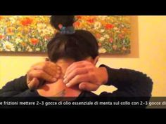 Cervicale e schiena: Esercizi posturali di automassaggio, manipolazione e rilassamento infiammazione - YouTube