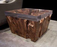 hudson furniture images | Hudson Furniture Unique Wood End Table