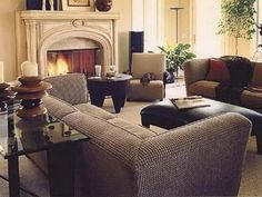 transitional living room design chair | Room Designs, Traditional Living Room Interior, Living Room Furniture ...
