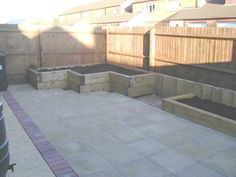 Paul Pym's garden transformation with railway sleepers PHOTO 6