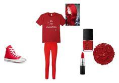 """Outfit"" by aruta on Polyvore featuring Michael Kors, MAC Cosmetics, NARS Cosmetics, Illamasqua, Converse, women's clothing, women's fashion, women, female and woman"