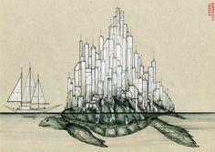 Desenhos e arte urbana de IEMZA (6)