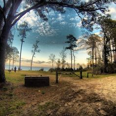 Beautiful North Carolina Campsite