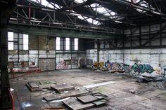 Volksforum.com - Fotolocatie met oude industriele look NDSM werf Amsterdam