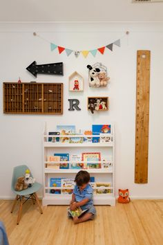 A Tiny Bedroom Reveal: Little Nerd's Nursery