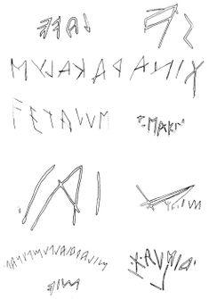scrittura etrusca