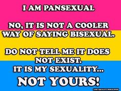 pansexual <3 ASK QUESTIONS, ignorance doesn't get us anywhere :]