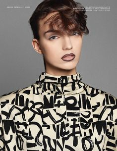 Punk Culture - Edie Campbell fronts the recently released Vogue Paris 'Punk Culture' editorial. The image series celebrates the subculture's bol...